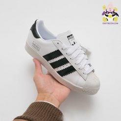 Giày Adidas Superstar đen trẻ em