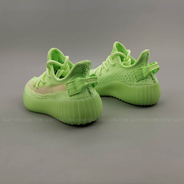 Giày Yeezy 350 V2 Glow Xanh Lá