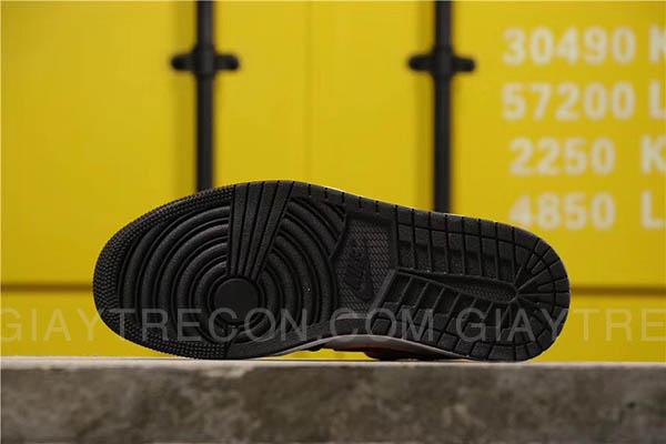 Giày Air Jordan 1 Mid Shattered Backboard Trắng Đen Cam