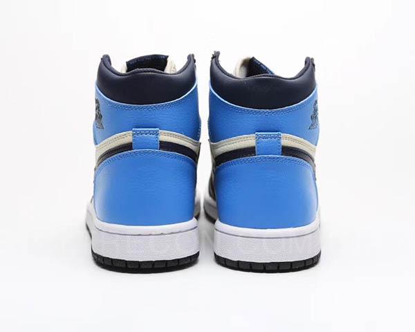 Giày Jordan 1 High Obsidian UNC Xanh Dương