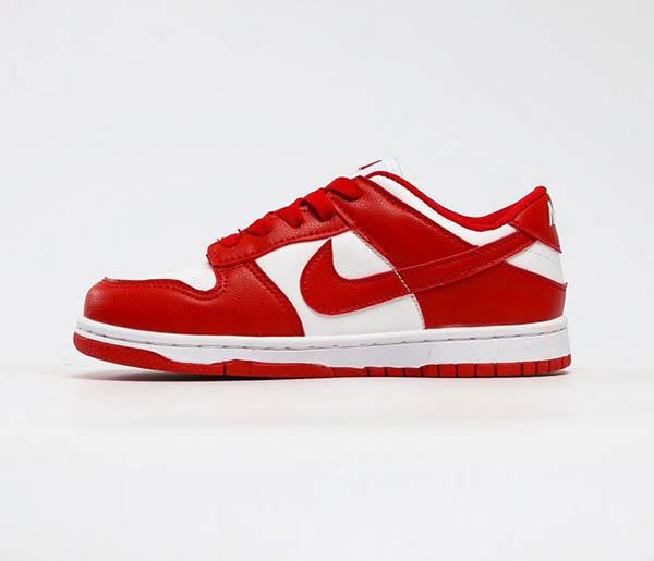 Giày Nike SB Dunk Low University Red Đỏ