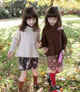 Phong cách phù hợp với quần áo trẻ em