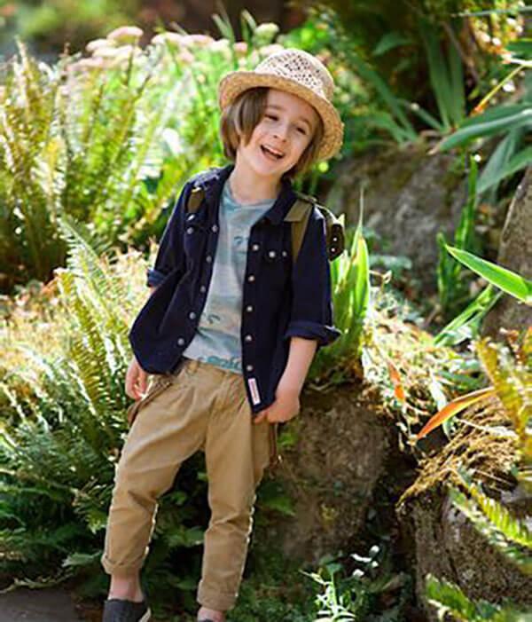 Lựa chọn vải cho quần áo trẻ em