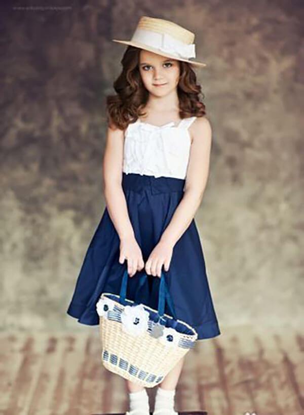Phối màu quần áo trẻ em