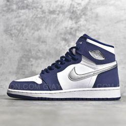 Giày Jordan 1 High COJP Midnight Navy Xanh