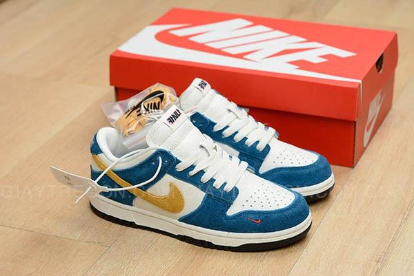 Giày Nike Dunk Low Kasina Industrial Blue Xanh Vàng