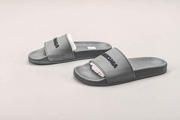 Giày Balenciaga Pool Slide màu xám