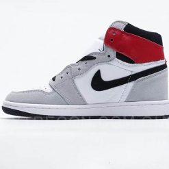 Giày Jordan 1 High Smoke Grey Xám Đỏ