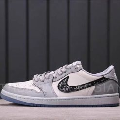 Giày Jordan 1 Low x Dior