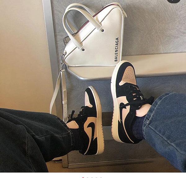 Giày Air Jordan 1 Low Black Guava Ice