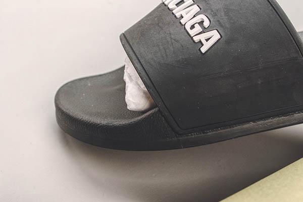 Dép Balenciaga Pool Slide màu đen