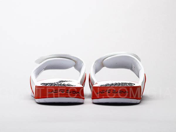 Dép Jordan Hydro 4 Fire Red màu đỏ