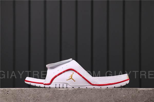 Dép Jordan Hydro 4 Chicago trắng đỏ