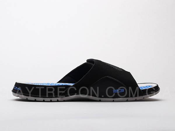 Dép Jordan Hydro 4 đen xanh