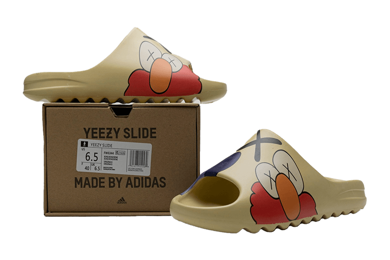Dép Yeezy Slide x Kaws