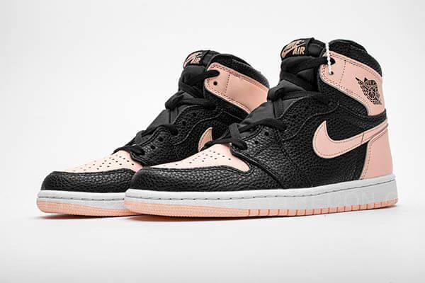 Giày Air Jordan 1 High Black Crimson Tint Đen Hồng