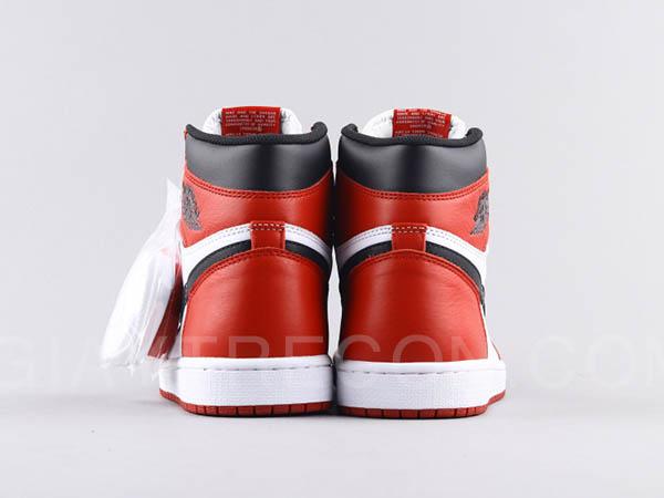 Giày Air Jordan 1 High Chicago Trắng Đỏ