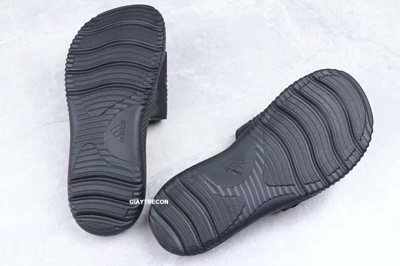 Dép Adidas Alphabounce đen full