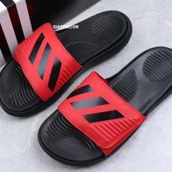 Dép Adidas Alphabounce đỏ đen