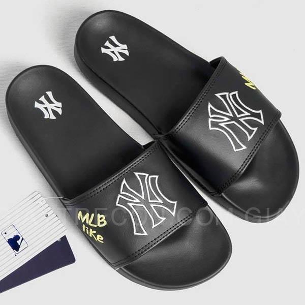 Dép MLB NY chữ thêu