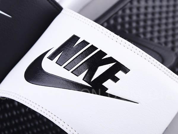 Dép Nike Benassi trắng