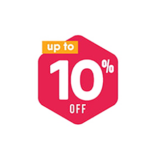 Icon giảm 10% đơn hàng tiếp theo giày trẻ con